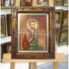 Ікона  іменна «Святий Апостол  Євангелист Марк»  (ІЧ-221) 15х20 см.
