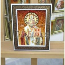 """Ікона """"Святий Миколай Лікійський чудотворець""""  (ІЧ-57) 15х20 см."""