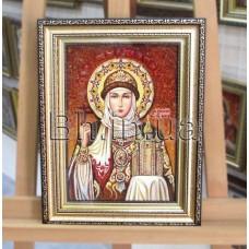 """Ікона імення """"Свята княгиня Ольга"""" (ІЖ-111) 15х20 см."""