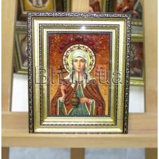"""Ікона іменна """"Свята мучениця Світлана"""" (ІЖ-158) 15х20 см."""