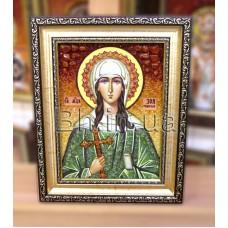 "Ікона іменна  ""Свята мучениця Зоя"" (ІЖ-50) 15х20 см."