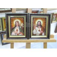 Ікони пари  (ІКП-15, ІКП-16) 15х20 см.