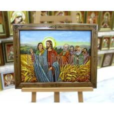 """Ікона """"Ісус в житі"""" (ІС-34) 40х60 см."""