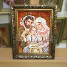 """Ікона """"Свята родина"""" (ІСР-21) 15х20 см."""