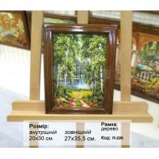 Пейзаж класичний (П-226) 20х30 см.