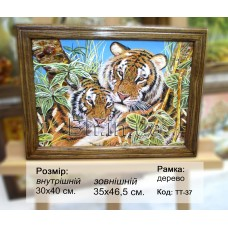 Тигри (ТТ-37) 30х40 см.