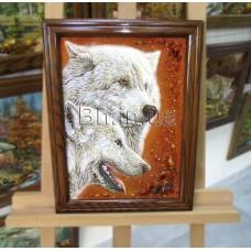 Вовки (ТВ-24) 30х40 см.