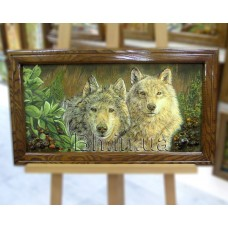 Вовки (ТВ-39) 30х60 см.