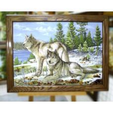 Вовки (ТВ-32) 60х80 см.