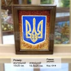 Символіка України (СУ-9) 15х20 см.